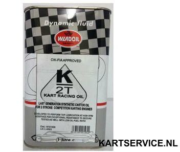 Wladoil 2T 1 liter (2T olie voor de IAME X30)