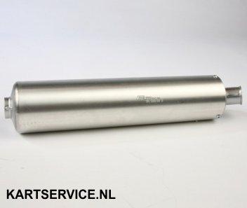 Nademper aluminium 125cc ELTO gehomologeerd
