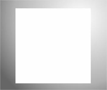 Plaknummerbord wit