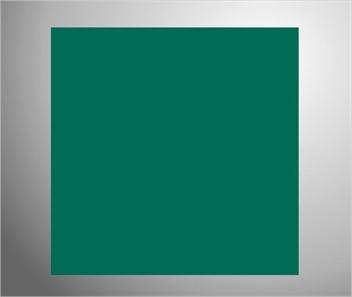 Plaknummerbord groen